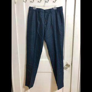 NWT J Crew steel blue wool Slim Bedford pant 34x34